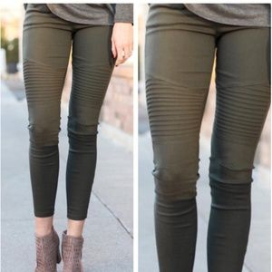 New Mix Moto Zip Leggings